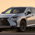 2016 Lexus RX 450h, the wheel of this luxury SUV improvement throughout