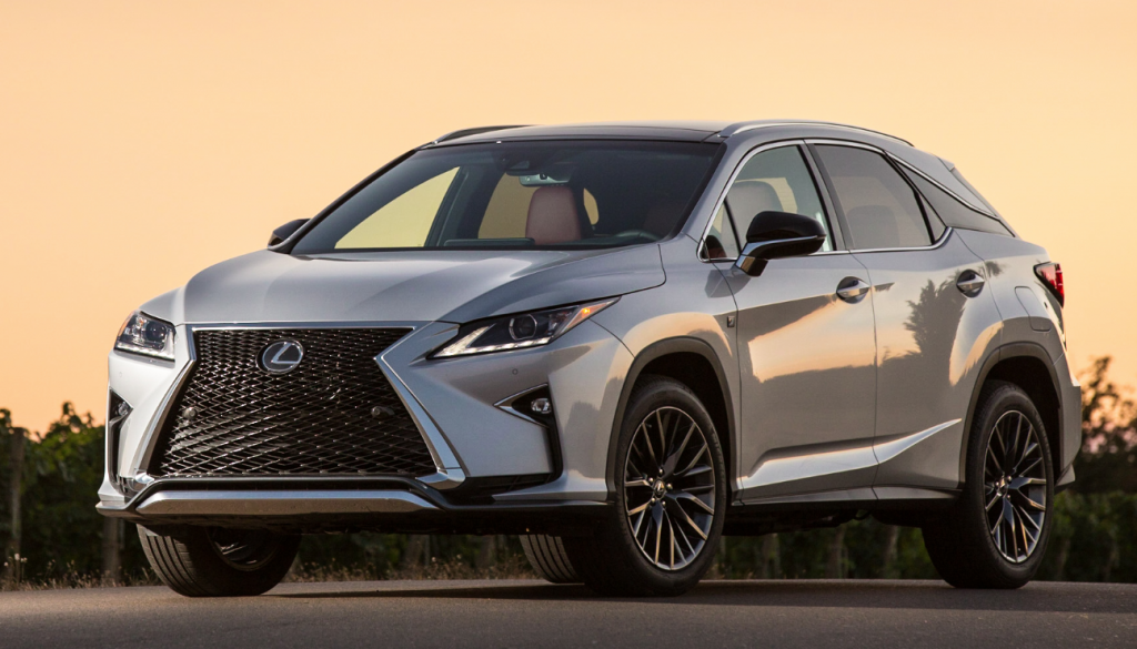 2016 Lexus Rx 450h The Wheel Of This Luxury Suv