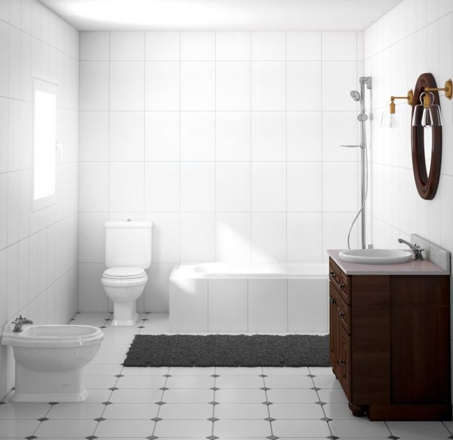 Plan to modernize the bathroom