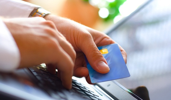 Processing credit cards online