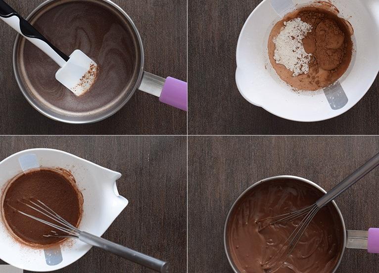 Swiss chocolate pudding