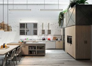 Functionality, especially in the kitchen, makes life less stressful