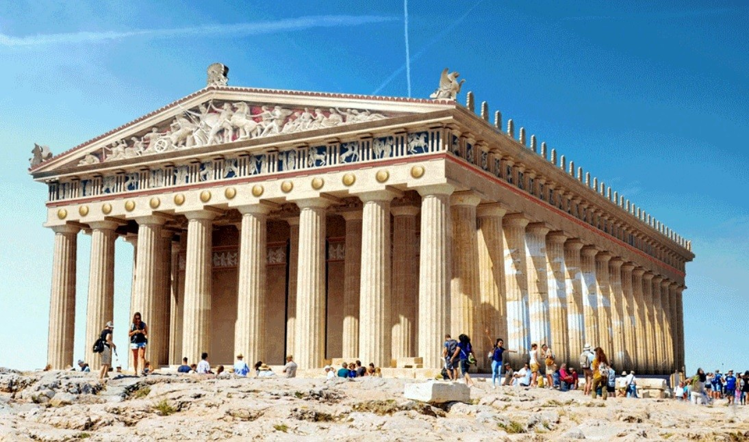 classic monuments reconstructed