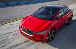 The Jaguar I-Pace conquers Laguna Seca: It is the fastest production electric car in the Californian circuit